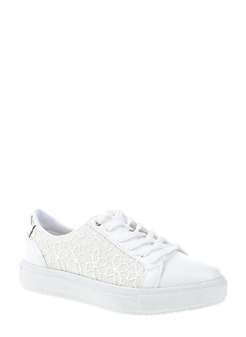 Divarese Bağcıklı Sneakers Ayakkabı Beyaz
